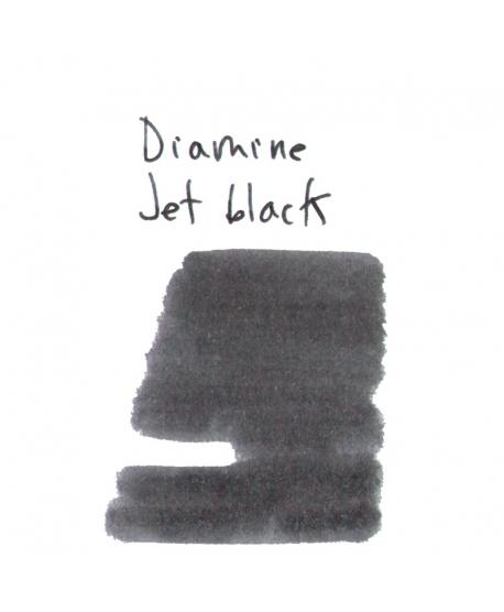 Diamine JET BLACK (2 ml plastic vial of ink)