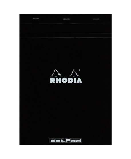 Rhodia Dot pad A4 Black