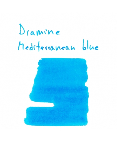 Diamine MEDITERRANEAN BLUE (2 ml plastic vial of ink)