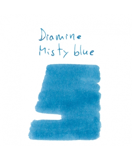 Diamine MISTY BLUE (2 ml plastic vial of ink)
