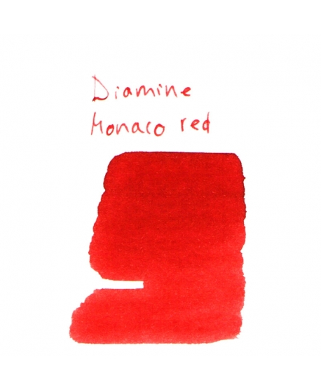 Diamine MONACO RED (2 ml plastic vial of ink)