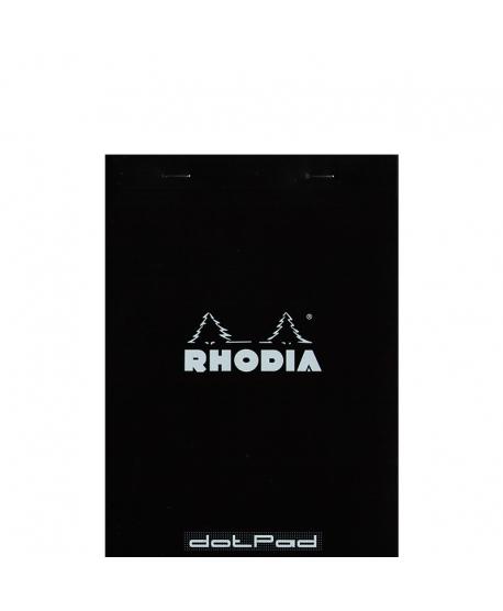 Rhodia Dot pad A5 negro