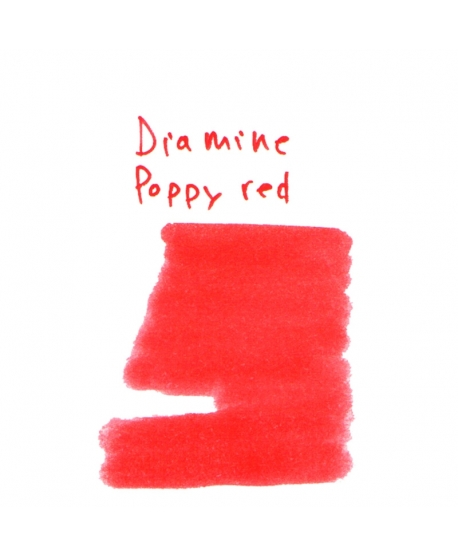 Diamine POPPY RED (Vial 2 ml)