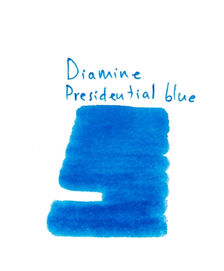 Diamine PRESIDENTIAL BLUE (2 ml plastic vial of ink)