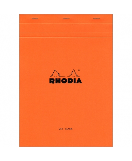 Rhodia n.º 18 Bloc A4 Orange plain
