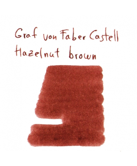 Faber-Castell HAZELNUT BROWN (2 ml plastic vial of ink)