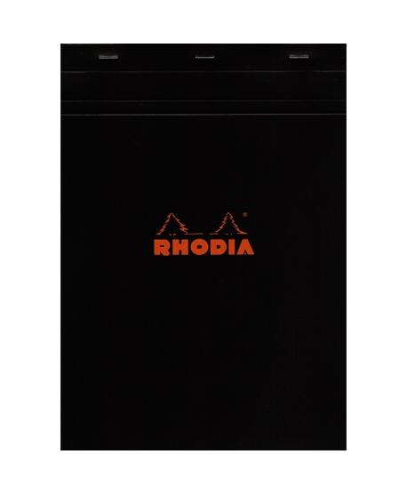 Rhodia n.º 18 Bloc A4 black squared 5x5