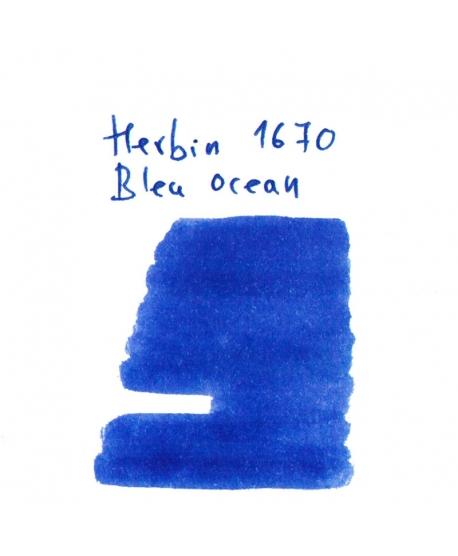Herbin 1670 BLEU OCEAN (2 ml plastic vial of ink)