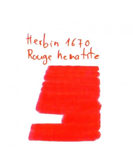 Herbin 1670 ROUGE HEMATITE (2 ml plastic vial of ink)