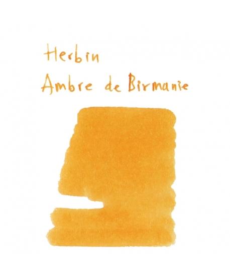 Herbin AMBRE DE BIRMANIE (2 ml plastic vial of ink)
