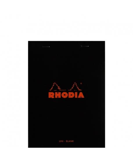 Rhodia n.º 16 Bloc A5 Black plain