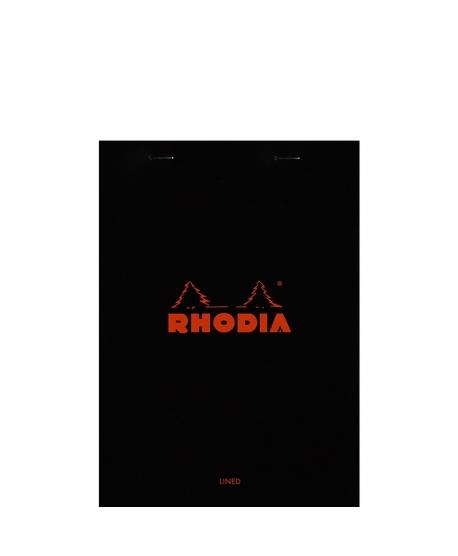 Rhodia n.º 16 Bloc A5 Black lined