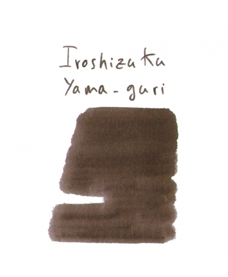 Pilot Iroshizuku YAMA-GURI (2 ml plastic vial of ink)