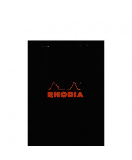 Rhodia n.º 16 Bloc A5 Black squared 5x5