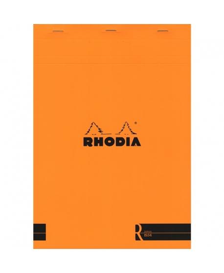 Rhodia n.º 18 Le R A4 Orange plain