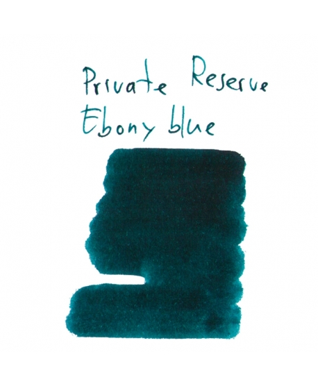 Private Reserve EBONY BLUE (2 ml plastic vial of ink)