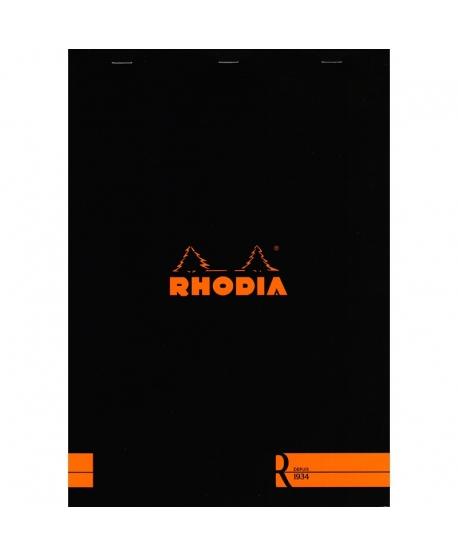 Rhodia n.º 18 Le R A4 Black plain