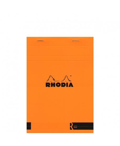 Rhodia n.º 16 Le R A5 Orange plain