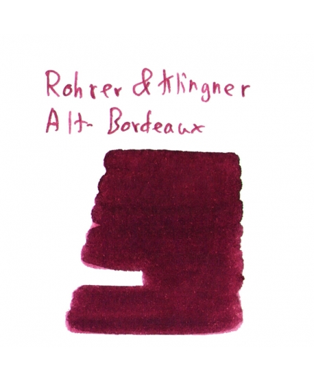 Rohrer & Klingner ALT-BORDEAUX (2 ml plastic vial of ink)