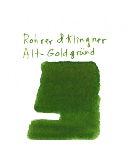 Rohrer & Klingner ALT-GOLDGRÜND (2 ml plastic vial of ink)