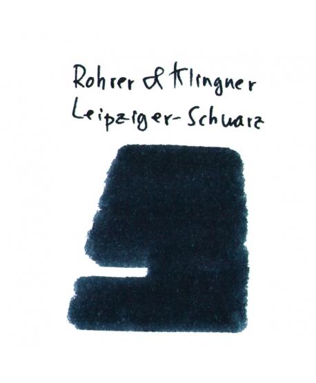 Rohrer & Klingner LEIPZIGER-SCHWARZ (2 ml plastic vial of ink)