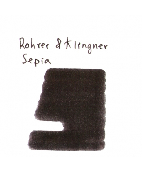 Rohrer & Klingner SEPIA (2 ml plastic vial of ink)