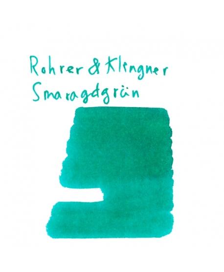 Rohrer & Klingner SMARAGDGRÜN (2 ml plastic vial of ink)