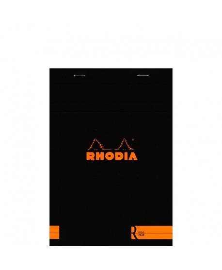 Rhodia n.º 16 Le R A5 Negro liso
