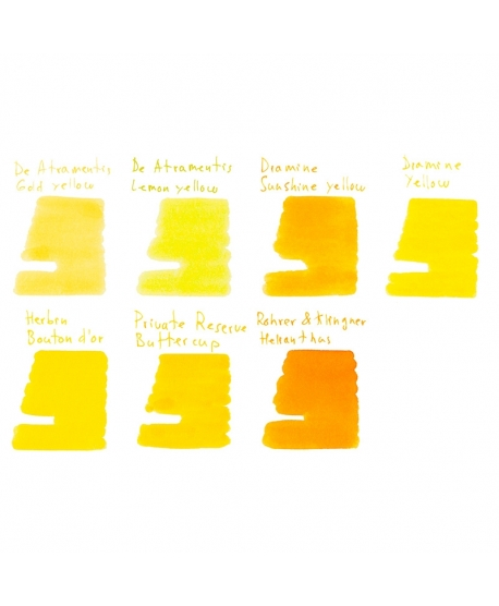 Collection of samples YELLOWS