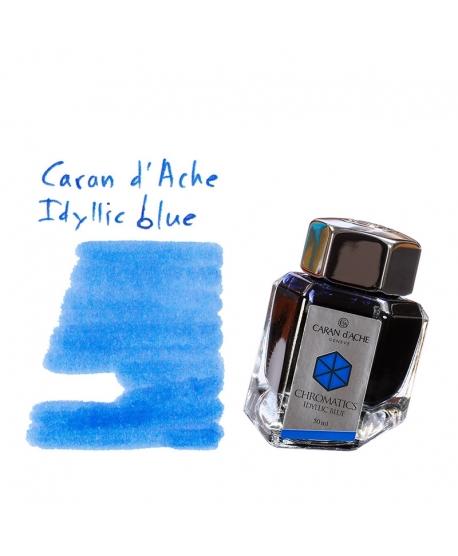 Caran d'Ache IDILLYC BLUE (Tintero 50 ml)
