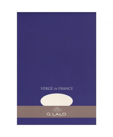 G. Lalo bloc Vergé de France laid A4
