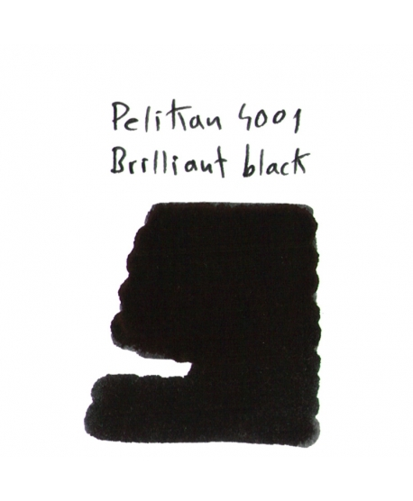 Pelikan 4001 BRILLIANT BLACK (Vial 2 ml)