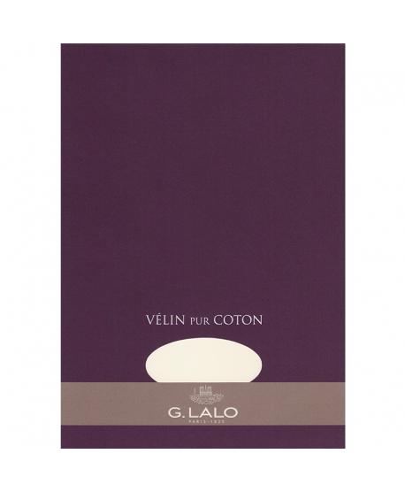 G. Lalo bloc Vélin pur coton A4
