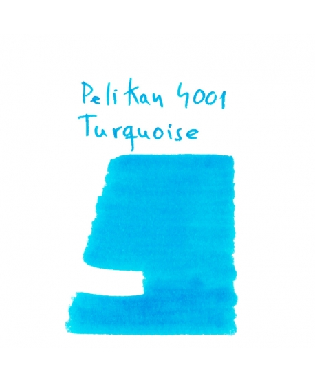 Pelikan 4001 TURQUOISE (Vial 2 ml)