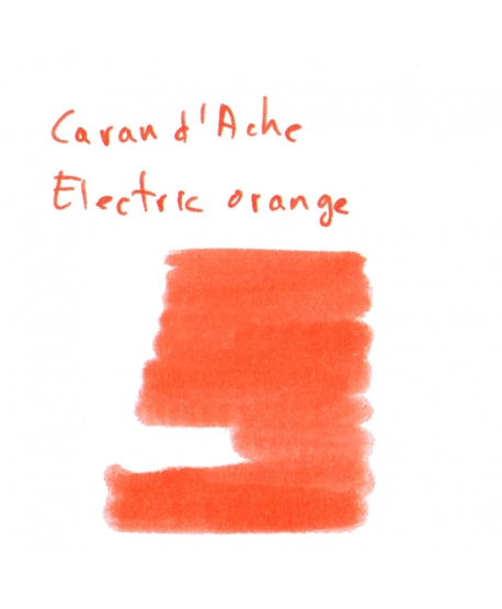 Caran d'Ache ELECTRIC ORANGE (Vial 2 ml)