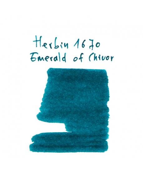 Herbin 1670 EMERALD OF CHIVOR (Vial 2 ml)