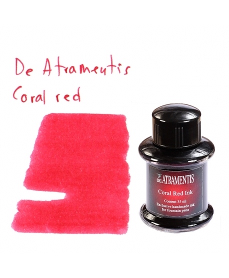 De Atramentis CORAL RED (Tintero 35 ml)