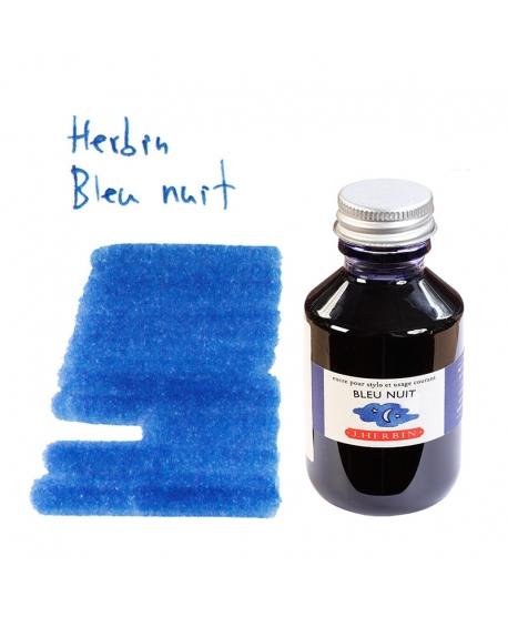 Herbin BLEU NUIT (Bouteille d' encre 100 ml)