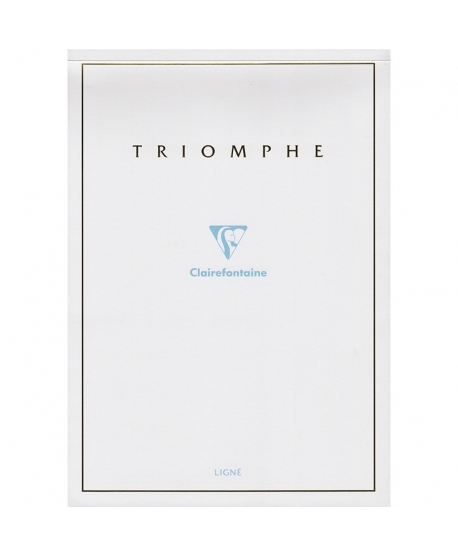 Clairefontaine bloc Triomphe A4 lined